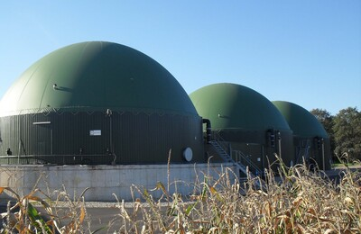 Compact Plus Biogas installation